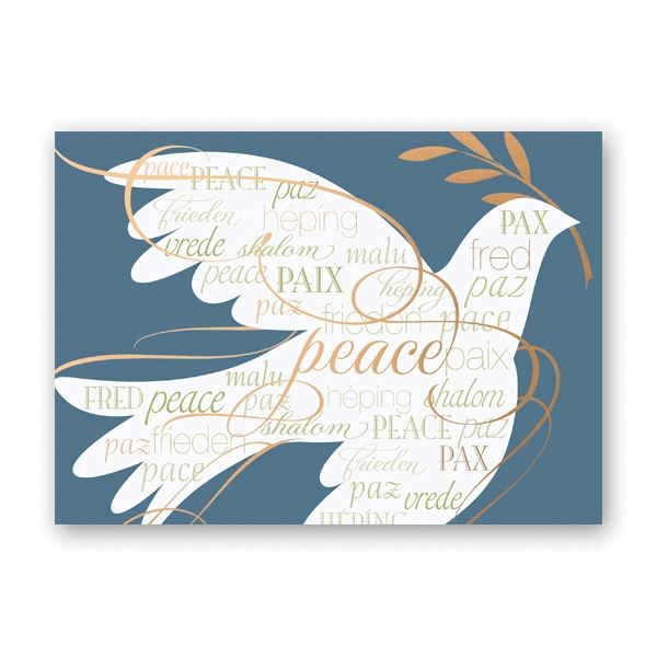 Made of Peace Greeting Card