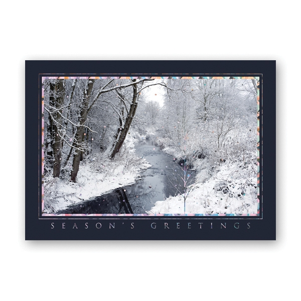 Radiant View Greeting Card