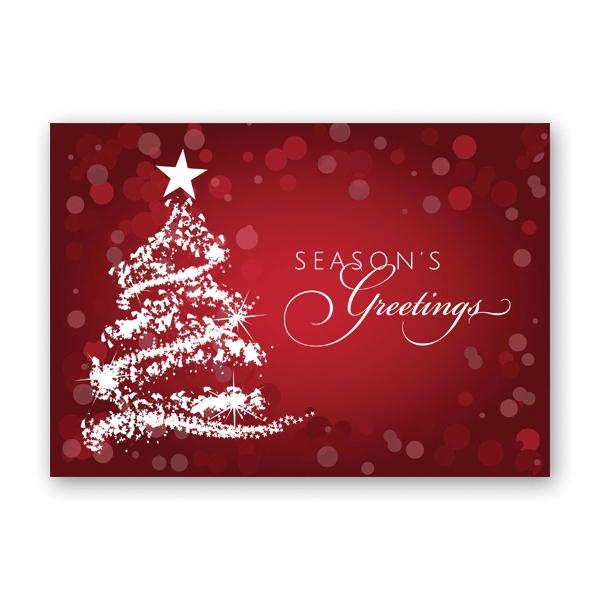 Dazzling Tree Greeting Card
