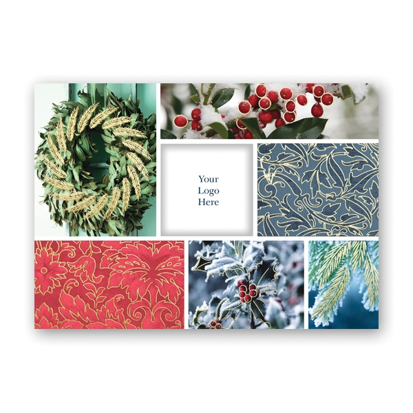Holiday Collage Greeting Card