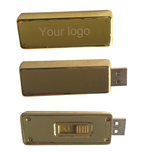 Metal Gold Bar like USB Flash Drive