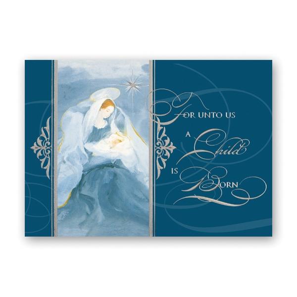 Peaceful Religious Card