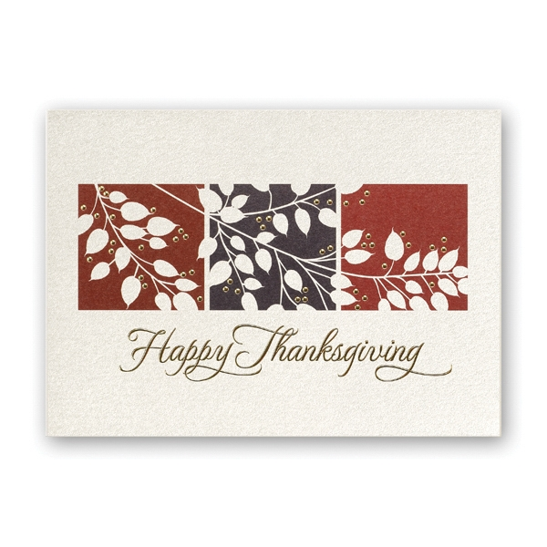 Thanksgiving Shimmer Thanksgiving Card