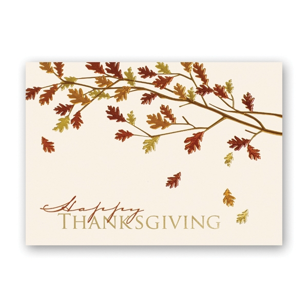 Colors of Fall Thanksgiving Card
