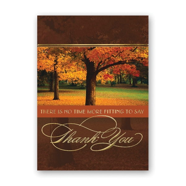 In Thanksgiving Card