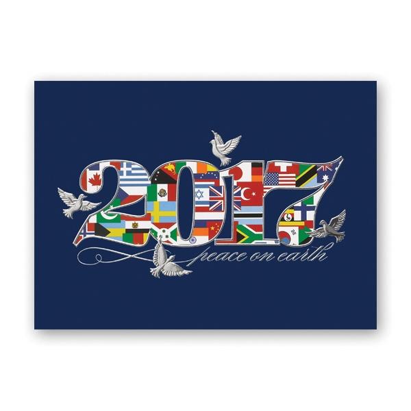Peaceful Nations Calendar Card