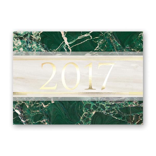 Classic Year Calendar Card