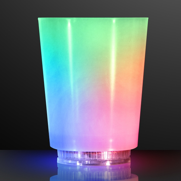 Light Up Color Change Frosted Cup