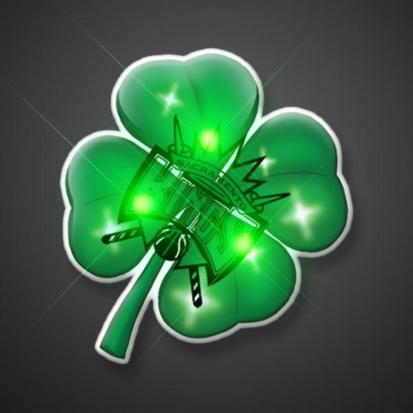 Flashing 4 Leaf Clover Blinkies
