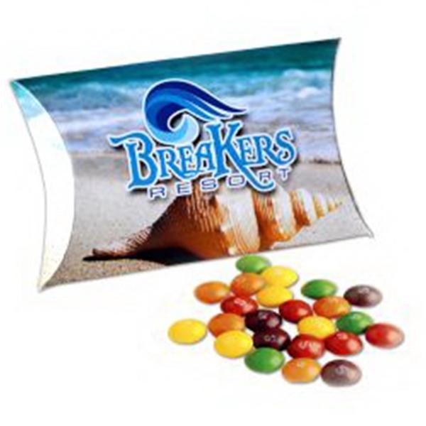 Full Color Paper Pillow Pack w/Mini Bag Skittles