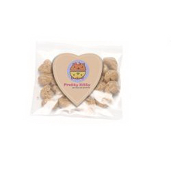 Cat Treats in Bag with Heart Magnet