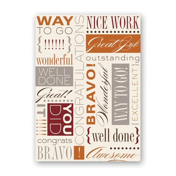 Awesome Job Greeting Card