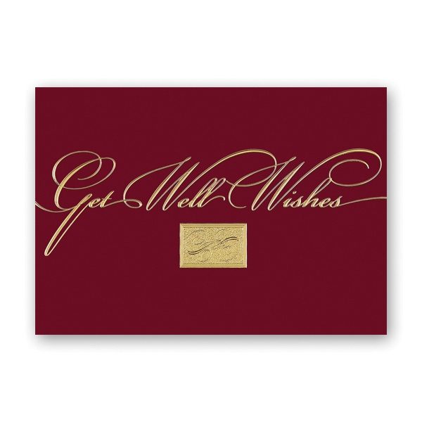 Get Well Greetings Get Well Card
