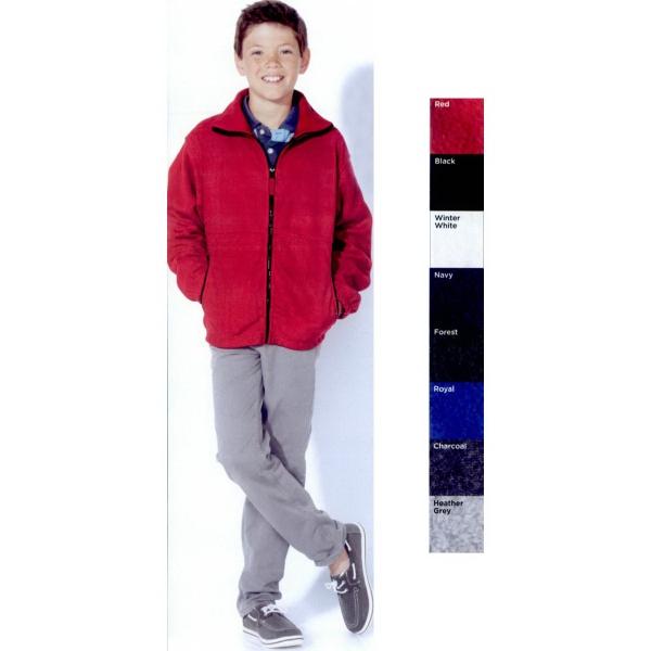Sierra Pacific Youth Full-Zip Fleece Jacket
