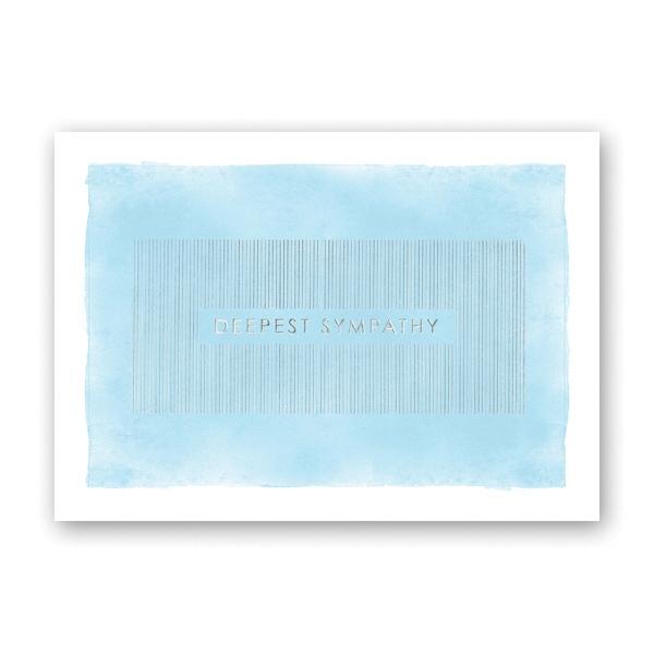 Watercolor Sympathy Sympathy Card