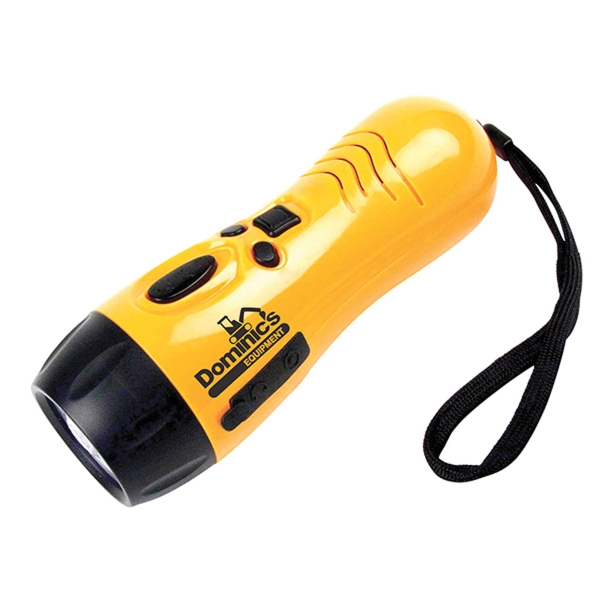 Dynamo Emergency Radio LED Light