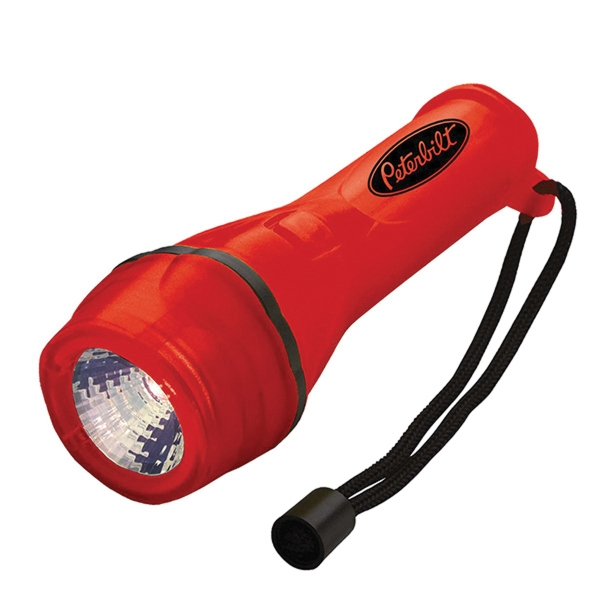 Gel Brite LED Flashlight with 2 AA Batteries