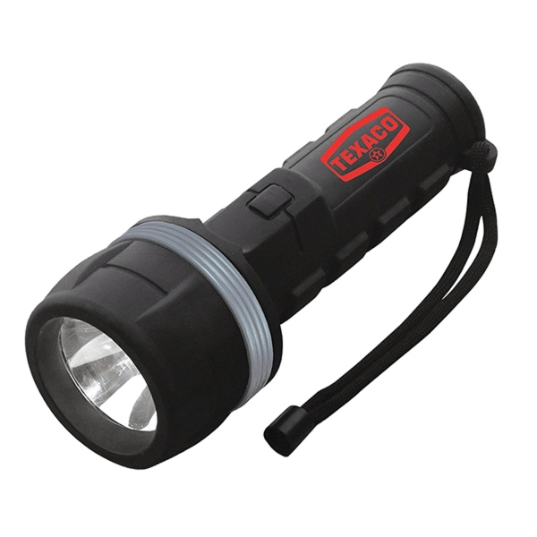The Boss 30 Lumen LED Flashlight with Two D Batteries