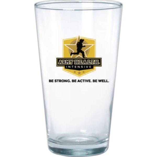 Clear Glass Pint