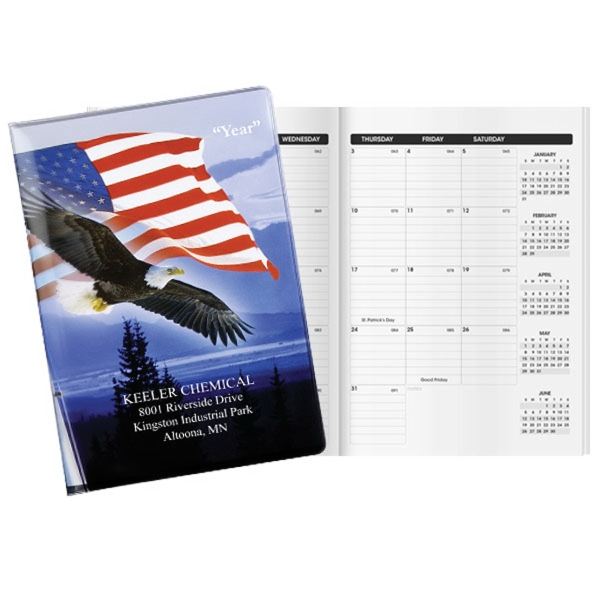 Patriotic Liberty Deluxe Classic Monthly Planner