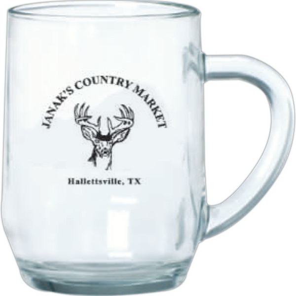Clear Glass Haworth mug