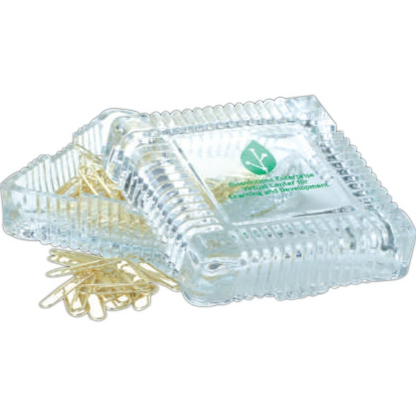 Clear Glass treasure box