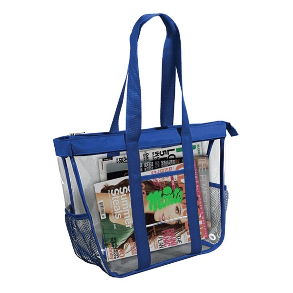 Clear Tote Bag 1