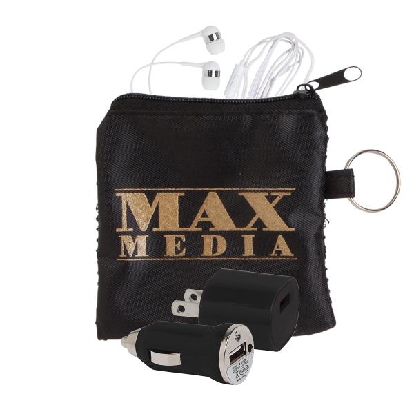 Deluxe Audio Tech Kit in Mesh Pouch
