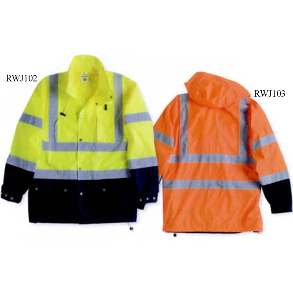 ML Kishigo Storm Cover Waterproof Rain Jacket