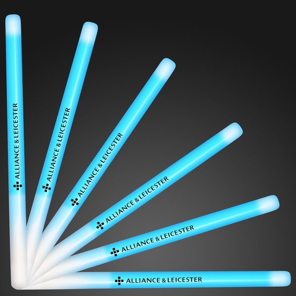 "9.4"" blue glow stick wands"