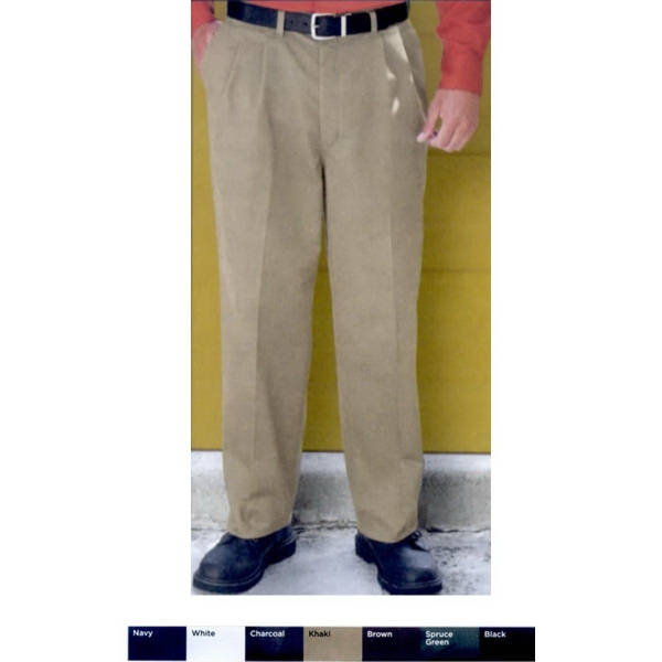 Red Kap Pleated Front Pants