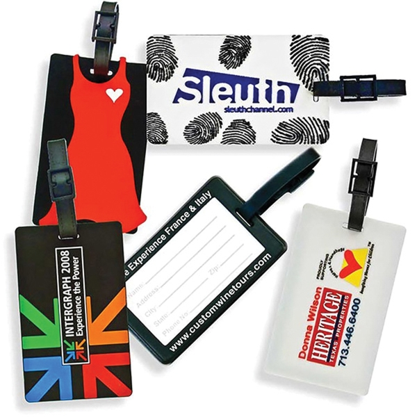 SLIP-IN LUGGAGE TAGS