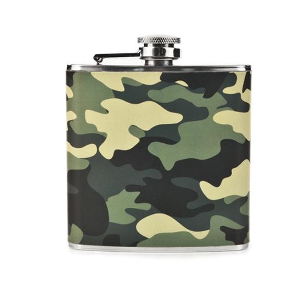 Rugged Camo Flask