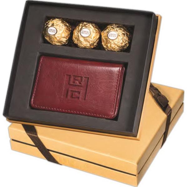 Chocolates & Leeman New York Soho Card Case