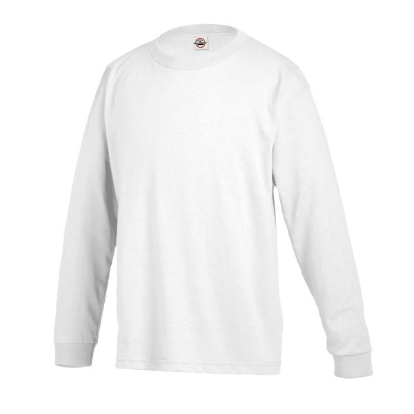 Delta Pro Weight Youth Regular Fit Long Sleeve Tee 5.2 Oz.