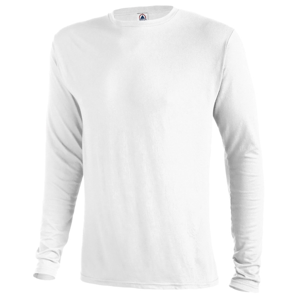 Delta Deltra-Dri 30/1's Performance Adult Long Sleeve Tee