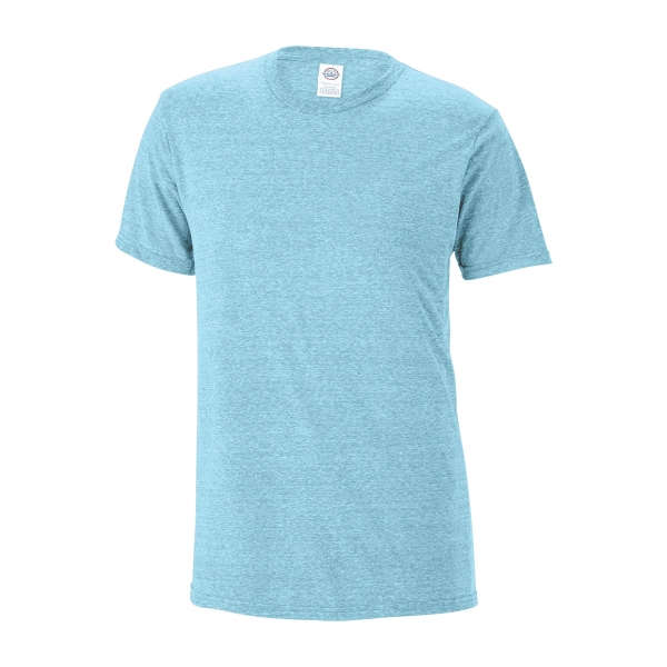Delta (R) Ringspun Unisex Adult 30/1's Snow Heather Fitted T
