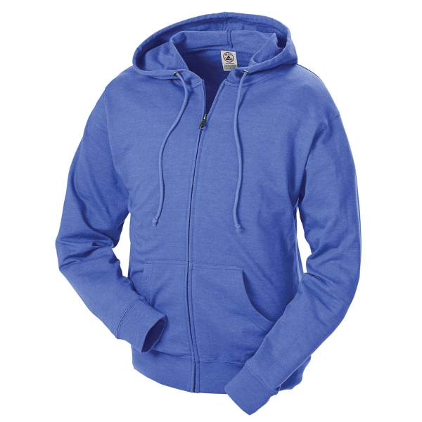 Delta (R) Adult Unisex French Terry Fleece Zip Hoodie 7.5 Oz