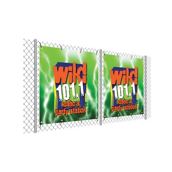 Fence Wrap, Vinyl, Single-Sided 60''W x 36''H