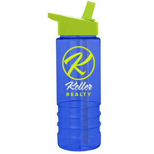 Salute-2, 24 oz Tritan™ Bottle with Flip Straw Lid