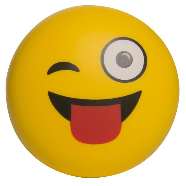 Emoji Squeezies (R) Wink Wink Stress Reliever