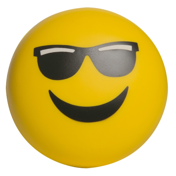 Emoji Squeezies (R) Mr Cool Stress Reliever