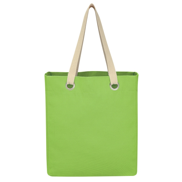Vibrant Cotton Canvas Tote