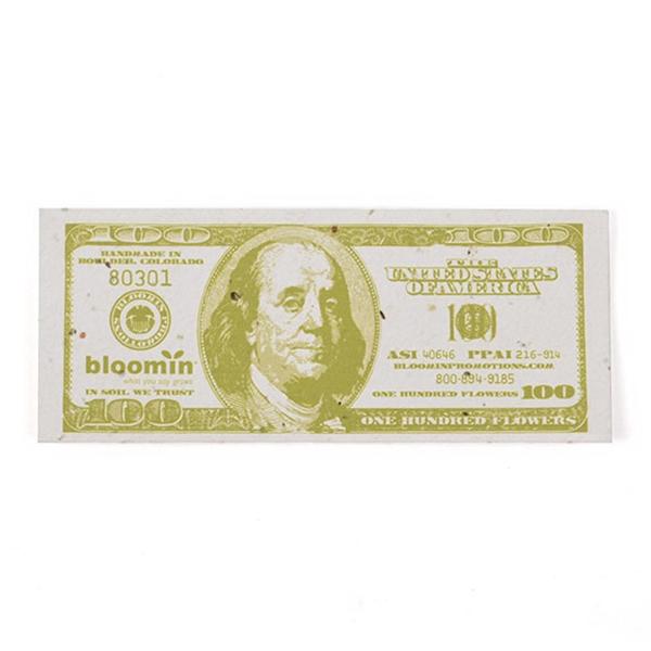 Seed Paper Dollar Bill
