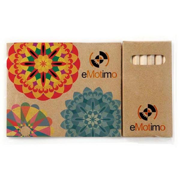 Custom Cover Adult Coloring Book & 6-Color Pencil Set