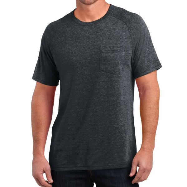 Men's Tri-Blend Pocket Tee