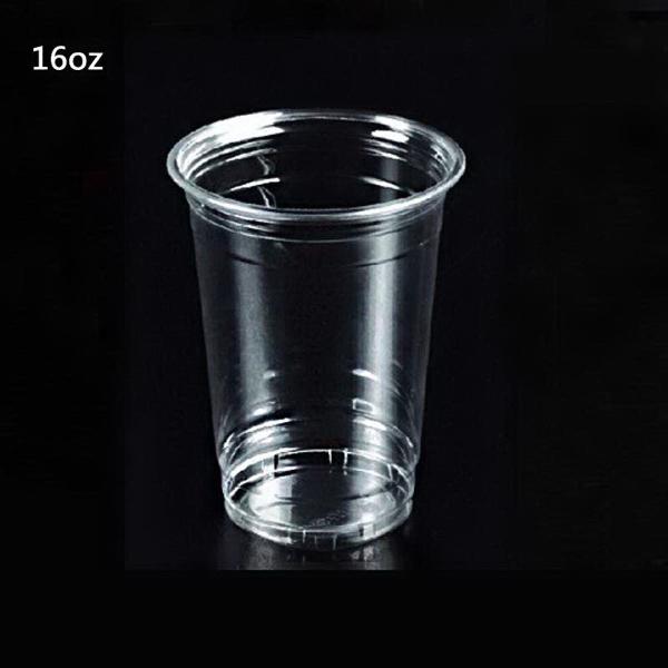 16oz Disposable Plastic PET Cup