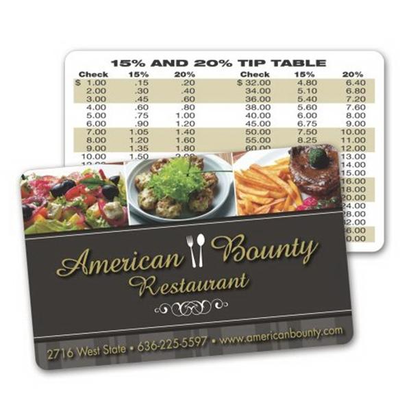 Paper Wallet / Loyalty Card - .015