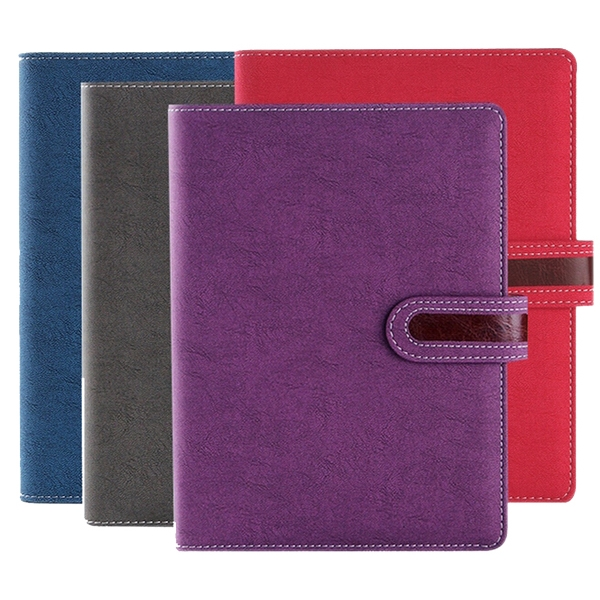 Journal with leather cover