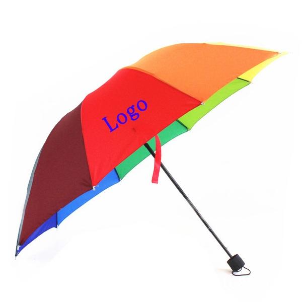 Promotion Logo Rainbow Folding